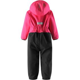 Reima Kids Mjosa Softshell Overall Candy Pink